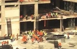Rize'de AVM inşaatındaki işçiler arasında kavga: 5 yaralı!
