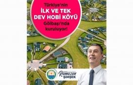 Türkiye'nin ilk dev hobi köyü Gölbaşı'nda kuruluyor!