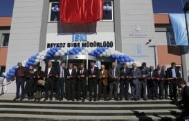 İSKİ'den Beykoz'a yeni hizmet binası!