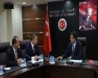 İnşaat sektörü temsilcileri Nihat Zeybekçi'yi ziyaret etti!