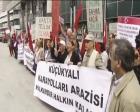 Küçükyalı Karayolları Arazisi ihalesi protesto edildi!