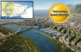 Emlak Konut'un Kanal İstanbul güzergahındaki proje haritası!