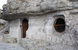 Tarihi Bolu Solaklar Kaya Evleri yenileniyor!