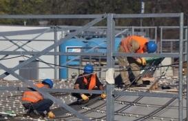 İnşaat sektöründe istihdam yılın ilk çeyreğinde yüzde 9,5 geriledi!