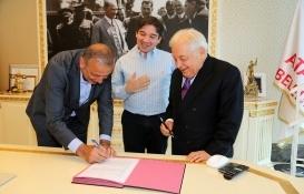Ataşehir'in yeni kültür merkezi için protokol imzalandı!