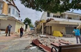 Alanya Avsallar'da 2 otelin kaçak yapıları yıkıldı!