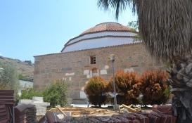 Aydın'daki Ahmet Gazi Cami restorasyonu tam gaz!