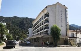 Marmaris'teki ruhsatsız 4 yıldızlı otel mühürlendi!