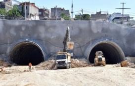 İzmir'in en uzun karayolu tünelinde inşaat durdu!