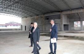 Bucak Kültür Kompleksi'nin inşaatı için bakandan yardım talebi!