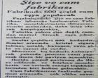 1935 yılında Şişe ve Cam Fabrikası Paşabahçe faaliyete geçmiş!