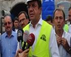 Nihat Zeybekci Denizli Honaz'daki tünel inşaatını inceledi!