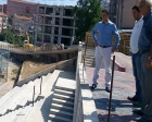 Zonguldak Kozlu'da yol çalışmaları incelendi!