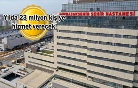 Başakşehir İkitelli Şehir Hastanesi'nin ilk etabı bugün açılıyor!