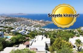 Yazlık lüks villaların haftalık kiraları 90 bin lira!