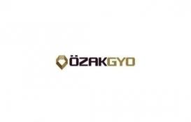 Özak GYO 13 milyon Euro finansman sağlayacak!