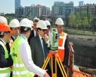 Vali Şahin Okmeydanı Hastanesi'nin inşaatını inceledi!