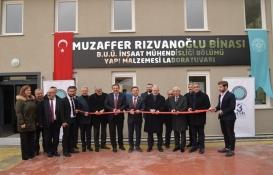 Bursa Uludağ Üniversitesi İnşaat Mühendisliği'ne modern laboratuarlar!