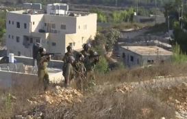 Yahudi yerleşimciler Batı Şeria'da Filistinlilerin evlerine saldırdı!