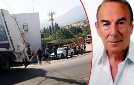 Mimar Muzaffer Aksoy'a çöp kamyonu çarptı, hayatını kaybetti!