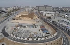 Başakşehir İkitelli Şehir Hastanesi'ndeki inşaat çalışmaları görüntülendi!