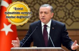 Cumhurbaşkanı Erdoğan'dan kentsel