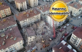 Zorunlu deprem sigortanızı kontrol edin!