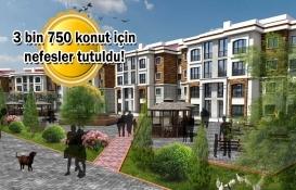 TOKİ 100 bin konut Arnavutköy kura çekilişi bugün!