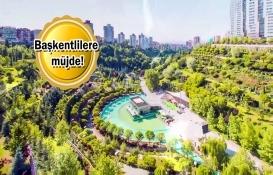 Ankara Kızılcahamam Millet Bahçesi için düğmeye basıldı!
