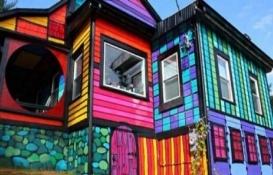 Bakması bile keyifli olan renkli evler!