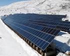 Erzurum'a güneş enerji santrali kuruldu!