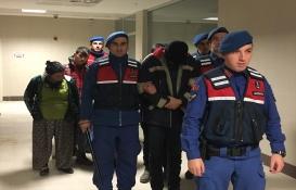 Denizli'de inşaattan kalıp çalan 5 şüpheli tutuklandı!