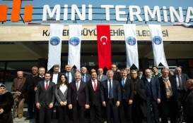Kayseri'ye 6 yeni mini terminal inşa edildi!