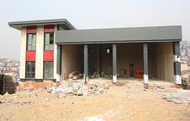 Gebze itfaiye müfreze binasının inşaatı tamamlanıyor!