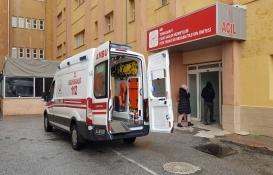 Gazipaşa'da çatıdan düşen inşaat işçisi ağır yaralandı!