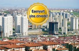 Esenyurt'ta Haziran'da 3 bin 824 konut satıldı!