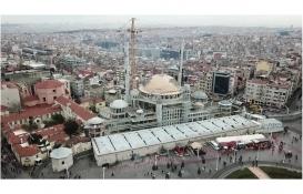 Taksim Cami'nin inşaatında son durum!