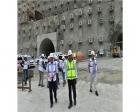 Yusufeli Barajı'nda inşaat çalışmaları sürüyor!