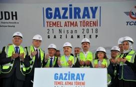 Gaziray'ın temeli atıldı!