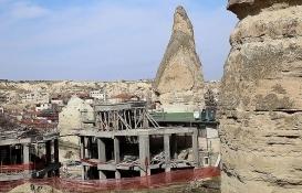 Kapadokya'da 15 yapı yıkılacak!