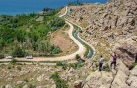 2 bin 800 yıllık Şamran Kanalı Van'ın cazibe merkezi olacak!