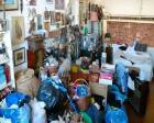 Polatlı'daki bir evden 16 ton çöp çıkarıldı!