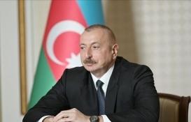 İlham Aliyev'den Türk inşaat şirketlerine ilişkin açıklama!