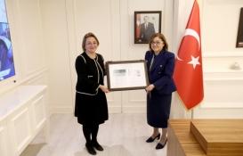 Gaziantep Büyükşehir'e yeşil bina sertifikası!