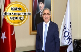 TOKİ'nin indirim kampanyası ile 4 bin 955 kişi tapusunu aldı!
