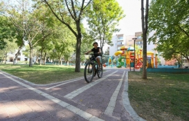 Bursa'da ilk yarıda 8 yeni park hizmete açıldı!