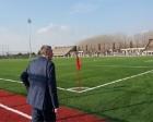 Akyazı spor tesislerinin saha kısmı tamamlandı!
