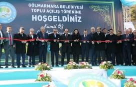 Manisa Gölmarmara'da toplu açılış töreni gerçekleşti!