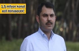 Murat Kurum: 1 numaralı gündemimiz deprem!