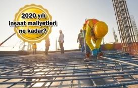 9 soruda 2020 yılı inşaat maliyetleri!